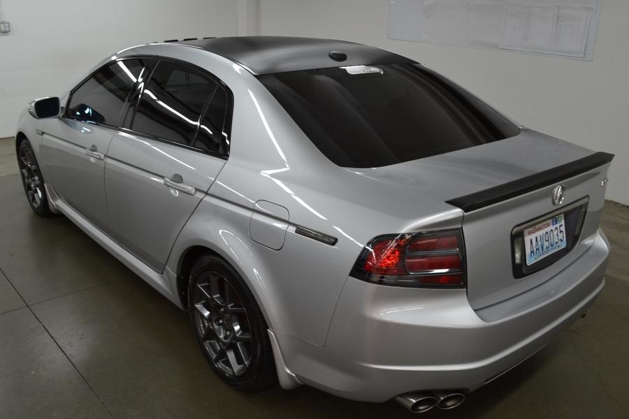 Caron Fiber Roof & Spoiler- Acura TL